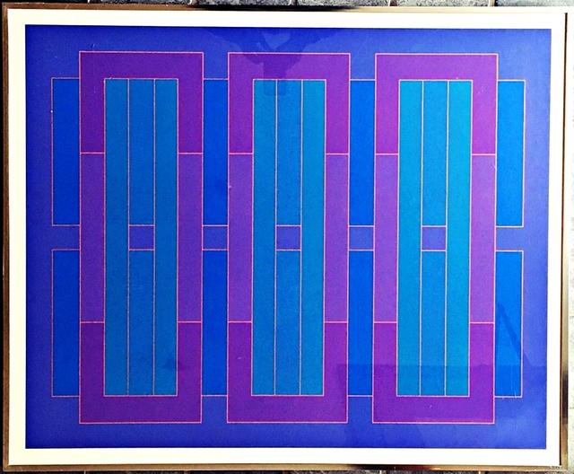 , 'Blue C,' 1971, Alpha 137 Gallery
