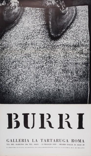 Alberto Burri, 'Burri', 1959, Posters, Poster, Finarte