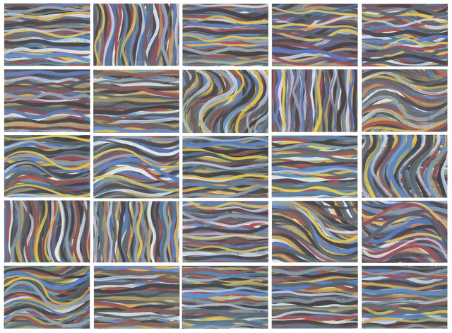 , 'Brushstrokes: Horizontal and Vertical,' 1996, Galerie Raphael