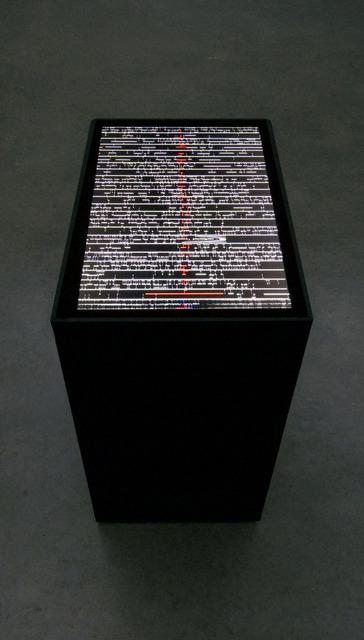 , 'data.scan,' 2009, EYE Filmmuseum Amsterdam
