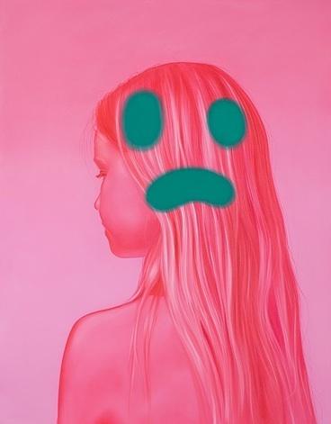, 'sad emoji,' 2016, CORDESA