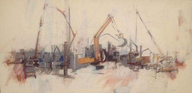 , 'Trolley Line Dig,' 2014, Ro2 Art