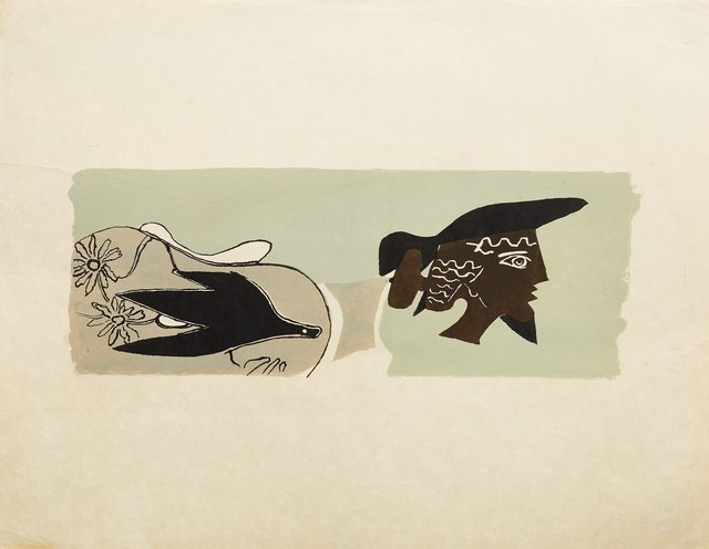 Georges Braque, 'Le Poete', 1958, Kings Wood Art