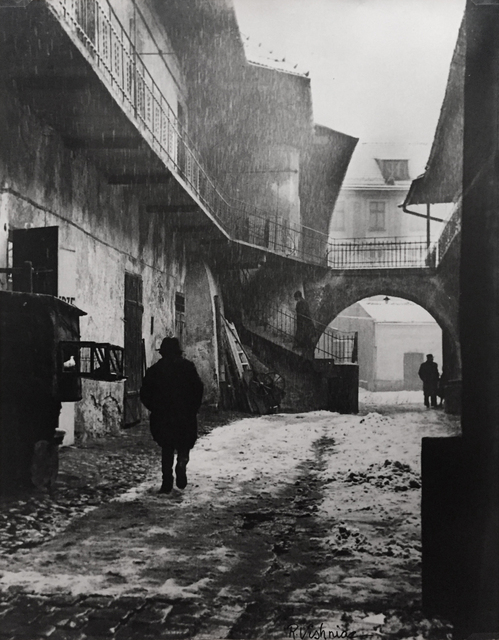 , 'The Entrance to Kasimierz, the Old Ghetto of Cracow ,' 1937, Alan Klotz Gallery