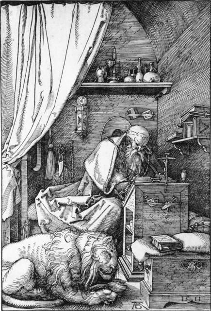 , 'Der heilige Hieronymus en der Zelle,' 1511, R. S. Johnson Fine Art
