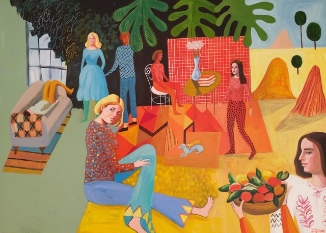 , 'The Painter's Family after Matisse,' 2019, Kittoe Contemporary