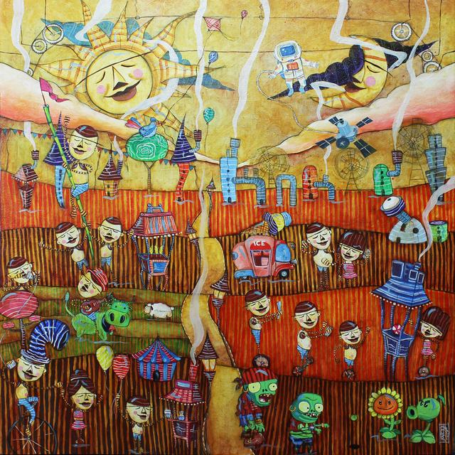 , 'Kalye Serye (Tales from the Street),' 2017, Di Legno Gallery