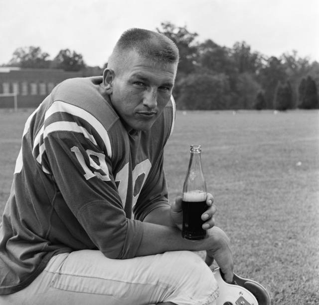, 'Johnny Unitas, RC Cola,' 1962, Staley-Wise Gallery