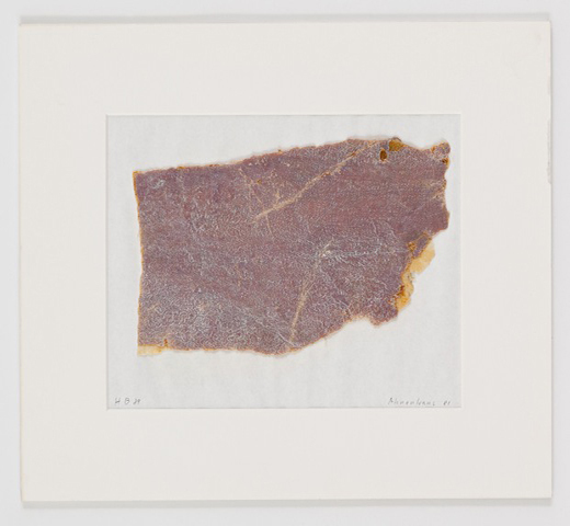 , 'Untitled (Ahnenhaus Fragment 81),' 1981, Freymond-Guth Fine Arts Ltd.