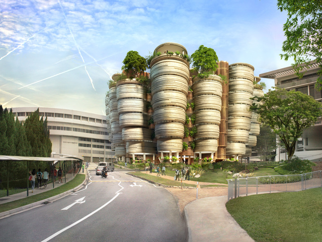, 'Learning Hub, Nanyang Technological University, Singapore,' 2011-2014, Hammer Museum