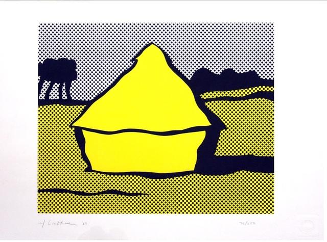 """Roy Lichtenstein, 'Haystack (a.k.a. """"Yellow Haystack"""")', 1969, Verosa"""