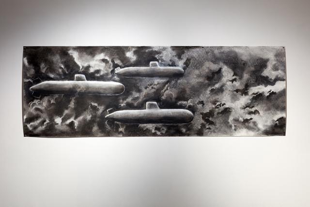 , 'Poking Holes in Her Ocean,' 2017, Art Mûr
