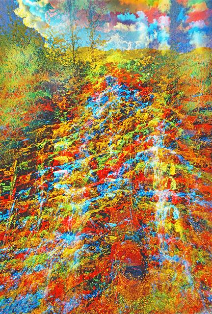Mitchell Funk, 'Waterfall Multiple Exposure ', 1971, Robert Funk Fine Art