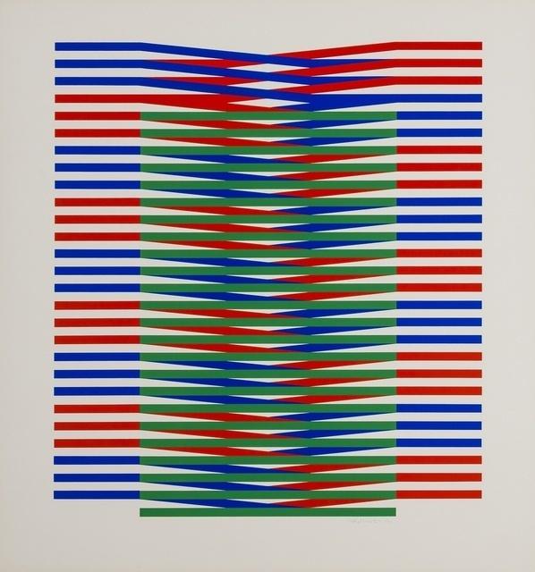 Carlos Cruz-Diez, 'Untitled No. 3', 1971, Upsilon Gallery