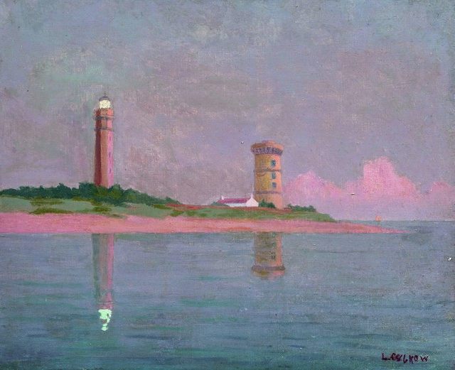 Louis Cylkow, 'Le Phare des Baleines, Ile de Ré', Leclere