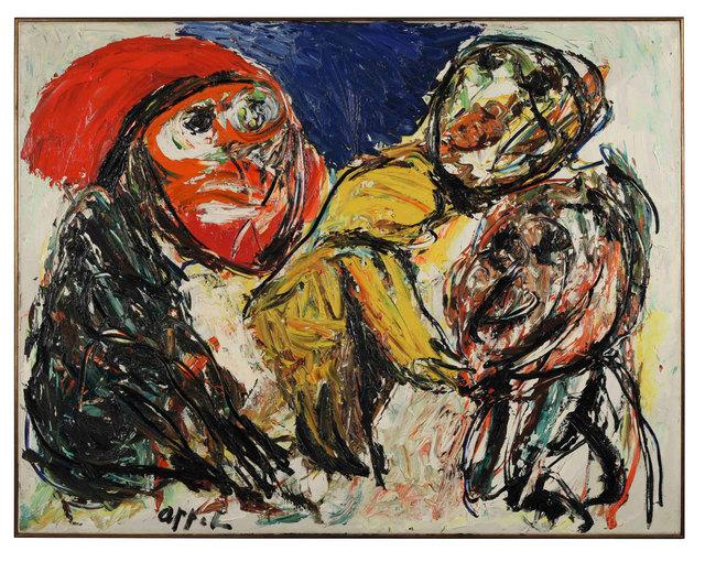 , 'Indians,' 1958, Dellupi Arte
