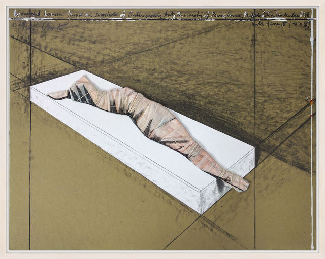 , 'Wrapped Woman,' 1996, Hamilton-Selway Fine Art