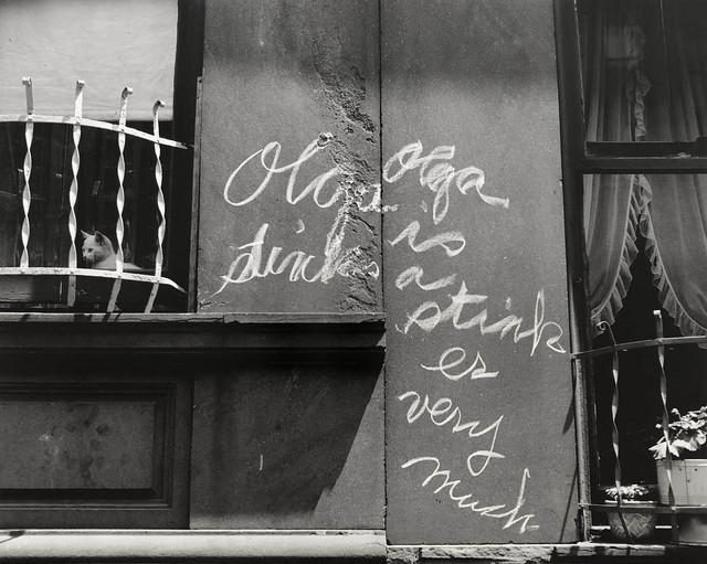 Helen Levitt, 'N.Y.C. (Olga is a stinker)', ca. 1939, Laurence Miller Gallery