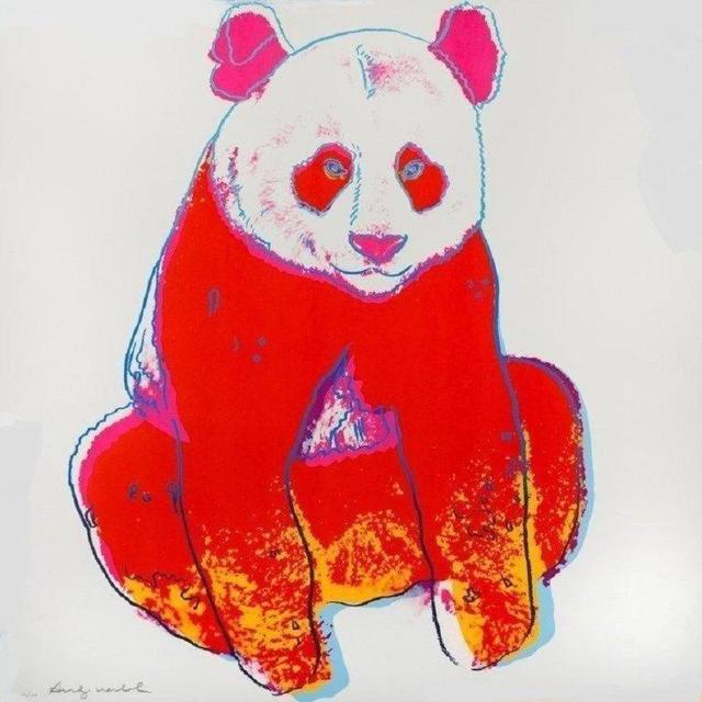 Andy Warhol, 'Giant Panda', 1983, Print, Original silkscreen, Galeries Bartoux Singapore