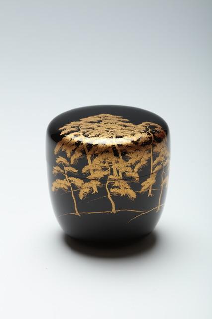 , 'Tea Caddy with Pines Cranes and Grasses (T-4308),' 1960-1969, Erik Thomsen
