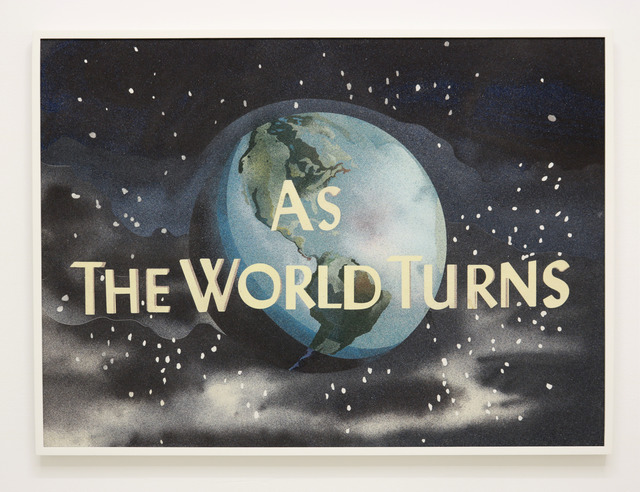Cynthia Talmadge, 'As the World Turns', 2018, Painting, Sand on panel, Halsey McKay Gallery