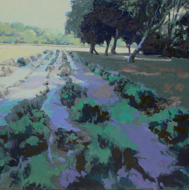 , 'Lavender Harvest,' , The South Street Gallery