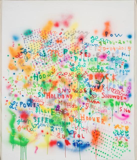 Anne-Lise Coste, 'Jazz and Popo', 2015, Lullin + Ferrari