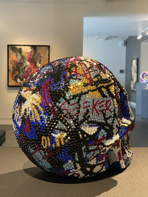 Metis Atash, 'Skull feat. Basquiat', ca. 2019, Samuel Lynne Galleries