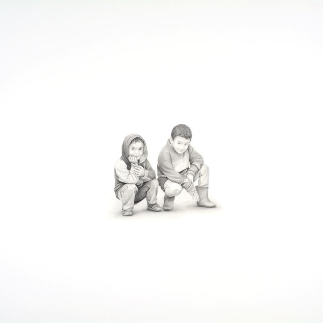 , 'Two Boys,' 2017, Kiechel Fine Art