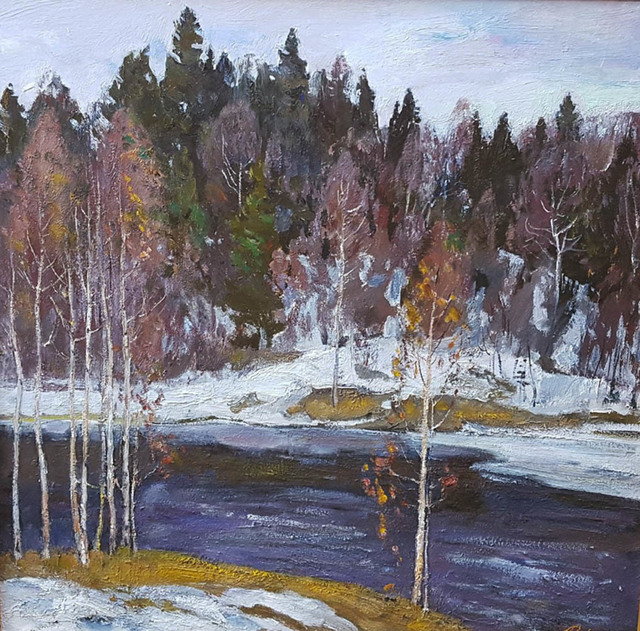 , 'Winter Landscape,' 1968, Paul Scott Gallery & galleryrussia.com
