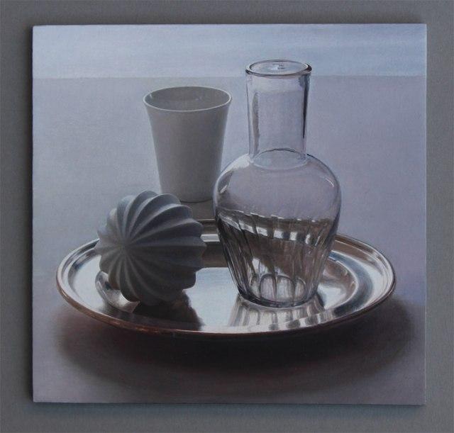 Lucy Mackenzie, 'Still Life with Glass Carafe', 2014, Nancy Hoffman Gallery