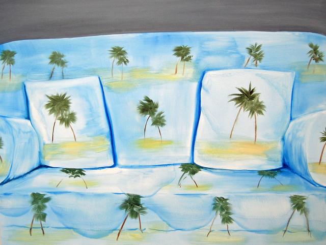, 'Palm Sofa,' 2018, CRUSHCURATORIAL
