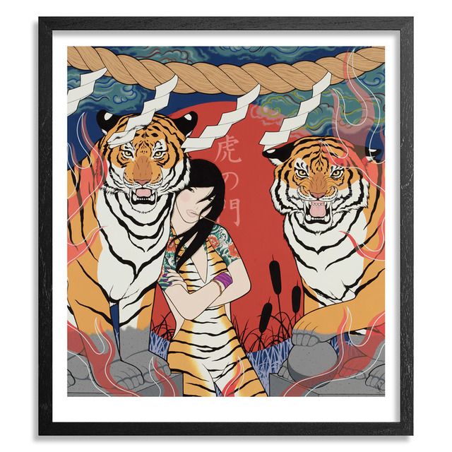 , 'Tiger Gate ,' 2016, 9 Strokes Gallery