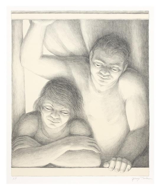 George Tooker, 'Window ', 1994, DC Moore Gallery