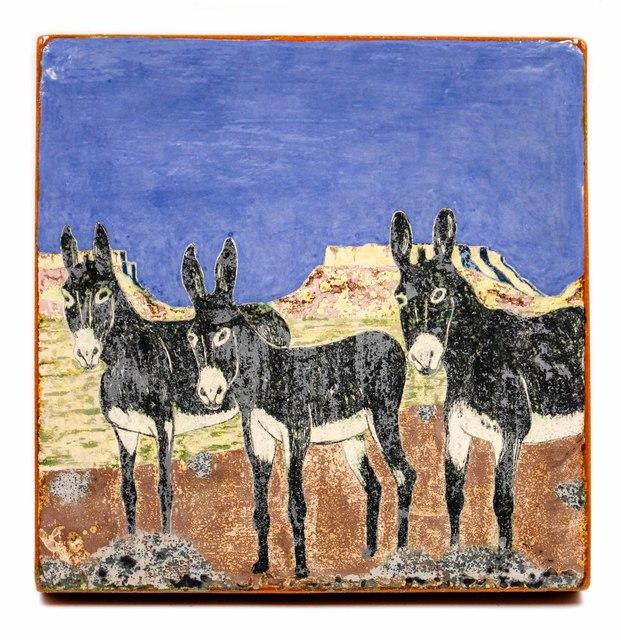 , '3 Donkeys,' 2017, form & concept