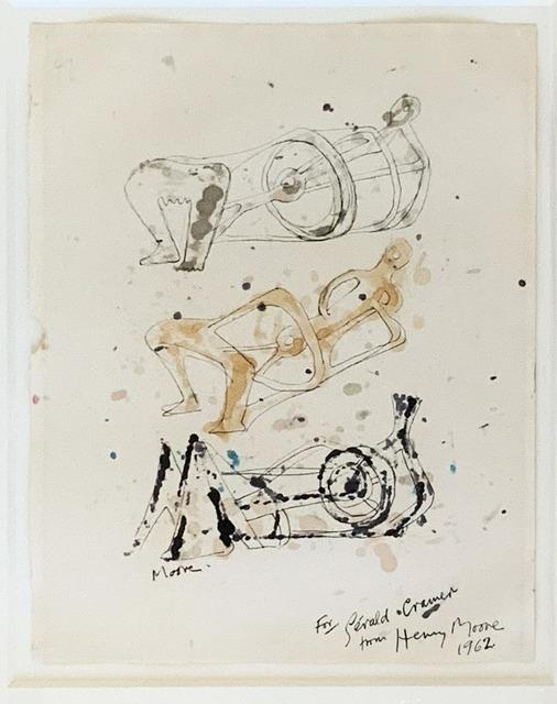 Henry Moore, 'Three Reclining figures', 1962, Fairhead Fine Art Limited