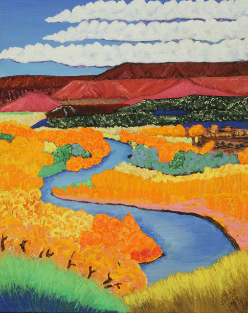 , 'River and Cottonwoods,' 2005, ACA Galleries