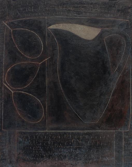 , 'Blackboard Jug & Pears,' 2018, Thackeray Gallery
