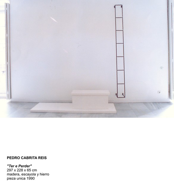 "Cabrita, '""Ter e Perder""', 1990, Sculpture, Iron, wood and plaster, Galería Juana de Aizpuru"