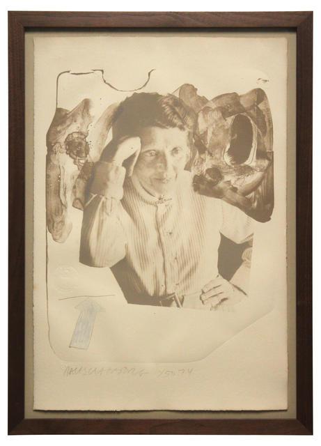 Robert Rauschenberg, 'Tanya', 1974, Print, Lithograph in colour with embossing on tan Angoumois à la main Richard de Bas paper, artrepublic