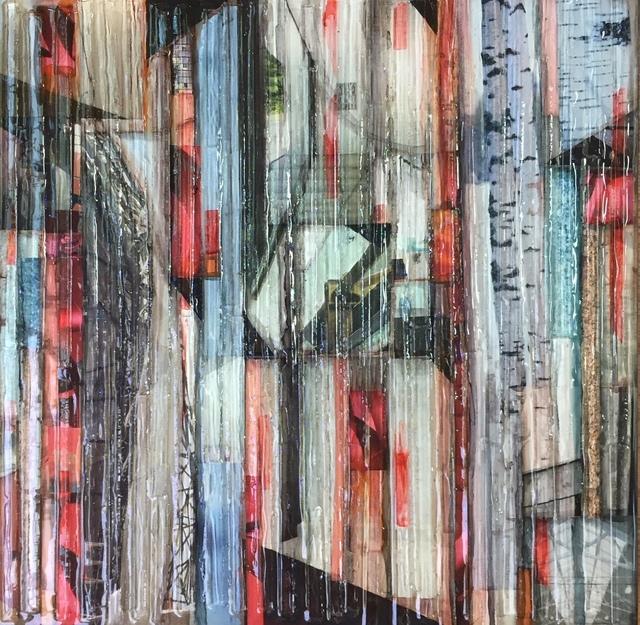 , 'Red Birch 1,' 2017, Ai Bo Gallery