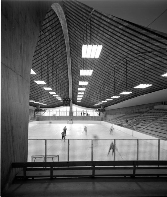 , 'Yale Skating Rink, New Haven, CT (Eero Sarinen, Architect),' 1958, Edward Cella Art and Architecture