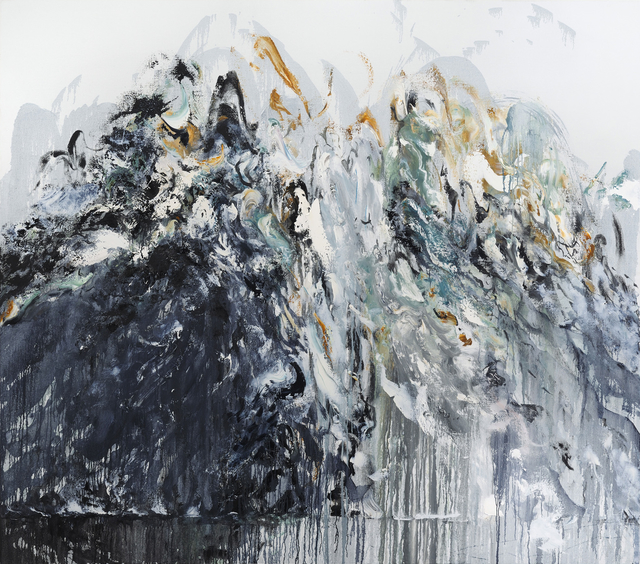 , 'Wall of water VI,' 2011, The National Gallery, London