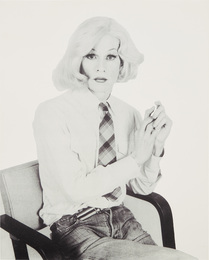 Andy Warhol, from Altered Image series