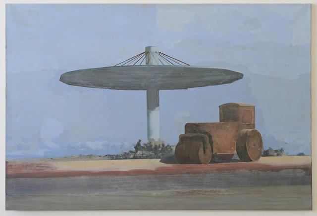 , 'Steamroller Under Shelter,' 2001, Galerie Nathalie Obadia
