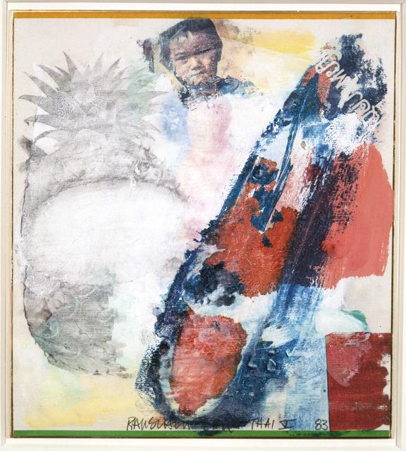 , 'Thai V,' 1983, Academy Art Museum