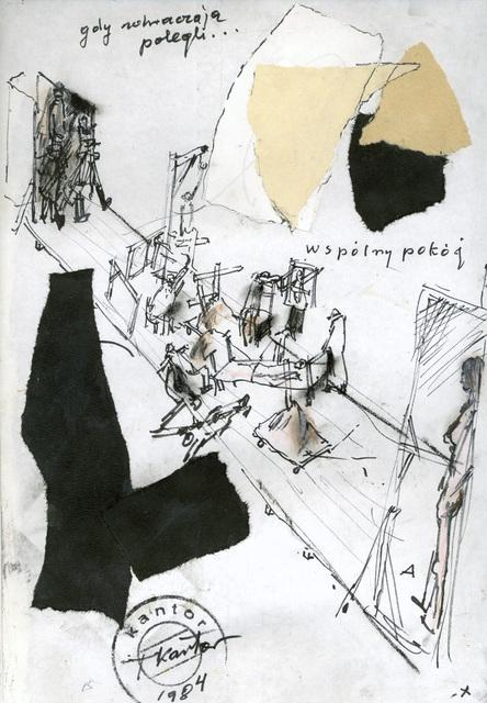 , 'Let artists perish: the way, track scene ,' 1984, Galerie Isabella Czarnowska