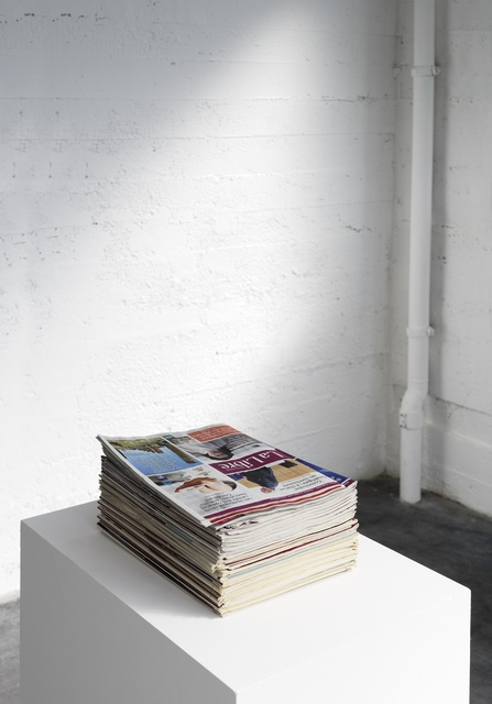 , 'Everyday,' 2004-2018, Galerie Mehdi Chouakri