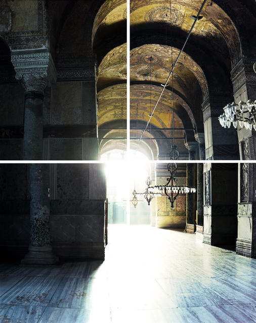 , 'Hagia Sophia 537 AD IV,' 2014, Galerie Nikolaus Ruzicska