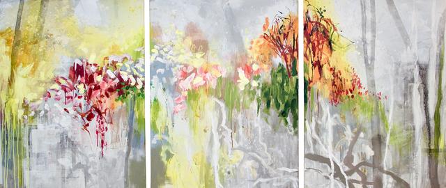Allison Stewart, 'Trail Marks (Triptych)', Gail Severn Gallery